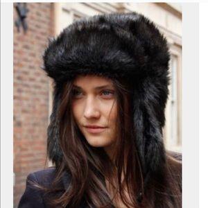 Faux Fur Trapper Luxury Hat NWT 💫